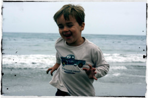 Paul on Beach