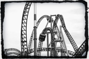 parenting an adolescent is like a roller coaster ride