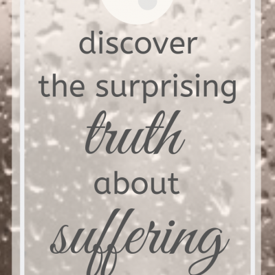 The surprising truth about suffering