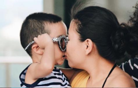 After we discipline in love our children feel safe