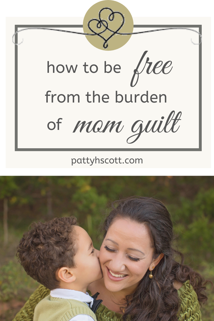 photo courtesy of canva -- we can overcome mom guilt