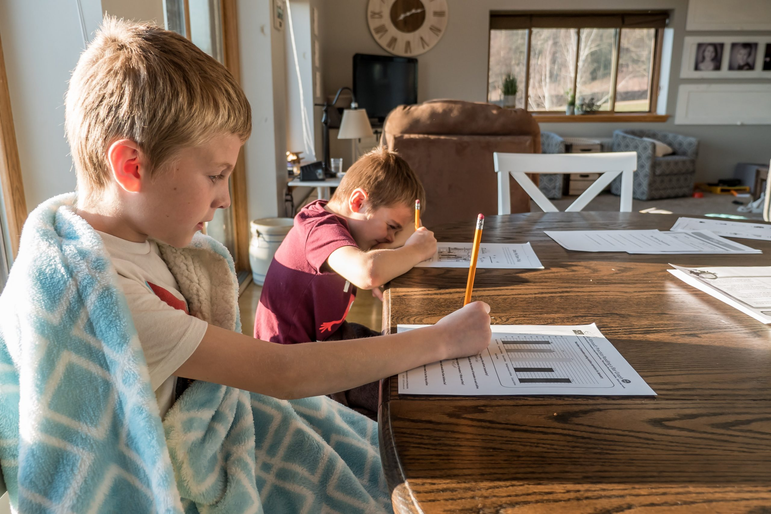 kids thrive with routine through uncertain times
