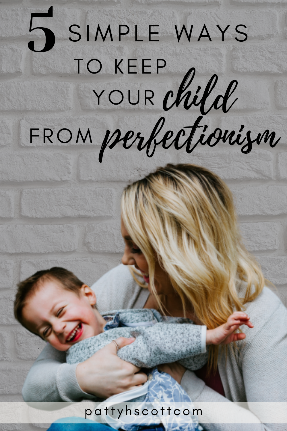 keep your child from perfectionism